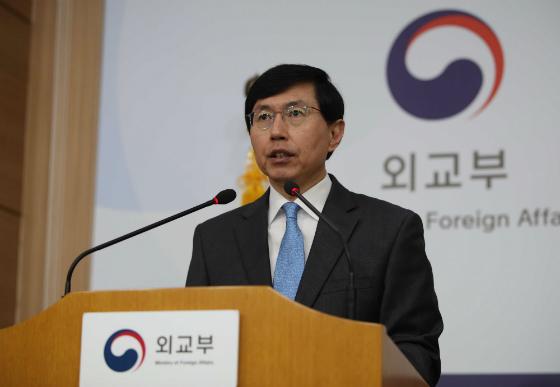 조준혁 외교부 대변인. (사진=저작권자(c) 연합뉴스, 무단 전재-재배포 금지)