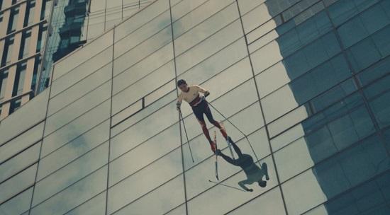 마술사 유호진씨가 출연하는 평창동계올림픽 홍보영상 캡쳐본.