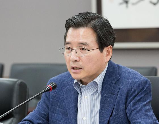 김용범 금융위원회 부위원장이 9일 정부서울청사에서 '금융시장 점검회의'를 주재하고 있다. (사진=금융위원회)