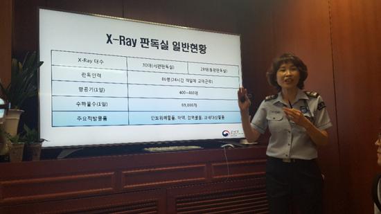 관세청 세관업무 X-Ray 판독실 일반현황