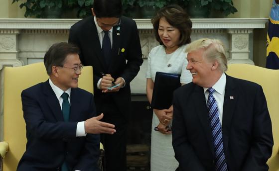 트럼프 미 대통령 국빈방한…내달 7일 한·미 정상회담
