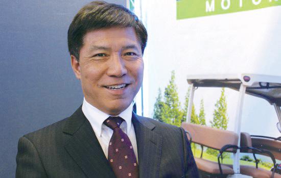 초소형 전기자동차 '다니고' 개발한 대창모터스 대표 오충기씨.(사진=대창모터스)