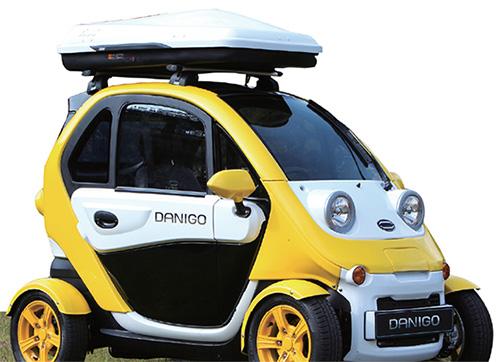 대창모터스에서 개발한 초소형 전기차 '다니고'.(사진=대창모터스)