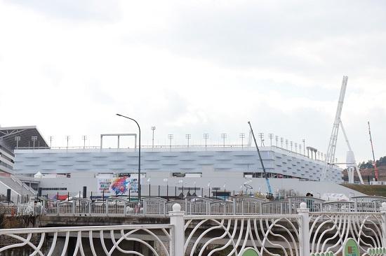 올림픽 개·폐막식이 개최될 평창올림픽스타디움