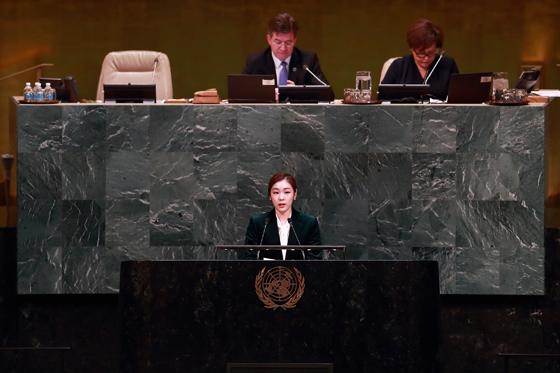 유엔은 이날 유엔총회에서 평창올림픽의 성공개최를 위한