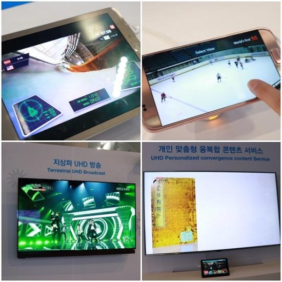 1인칭 시점의 영상을 시청하는 씽크뷰(Sync View), 원하는 선수의 영상을 선택해서 시청하는 포인트뷰(Point View), 원하는 각도를 선택하여 시청하는 멀티뷰(Multi View) 등이 가능해진다.