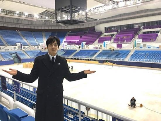 평창동계올림픽 홍보대사 정용화.(출처=2018 평창동계올림픽대회 페이스북)