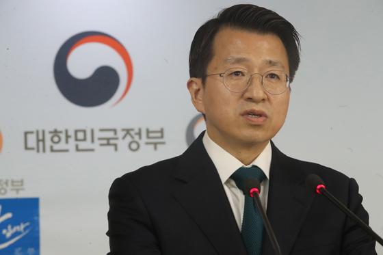백태현 통일부 대변인. (사진=저작권자(c) 연합뉴스, 무단 전재-재배포 금지)