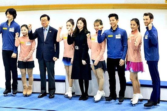 평창동계올림픽에 출전하는 대한민국 피겨 국가대표
