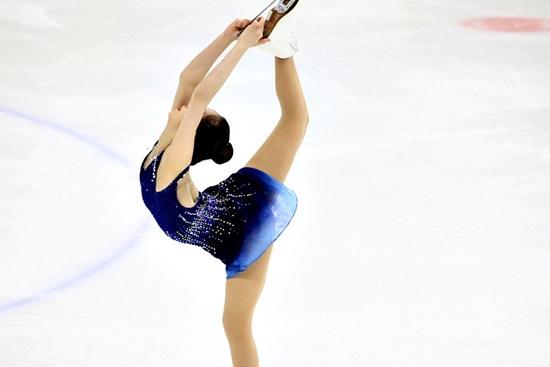 평창동계올림픽 출전권을 획득한 최다빈 선수