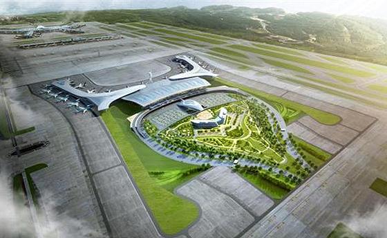 인천공항 조감도.