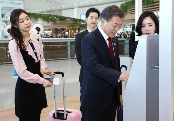 인천공항 제2터미널 공개…18일 운영 개시