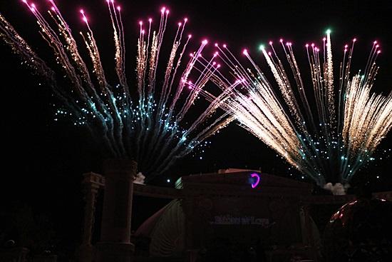 에버랜드 성화봉송 축하 불꽃쇼