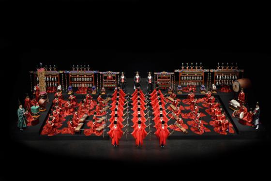 국립국악원 <종묘제례악> 공연 모습 (사진 = 국립국악원)