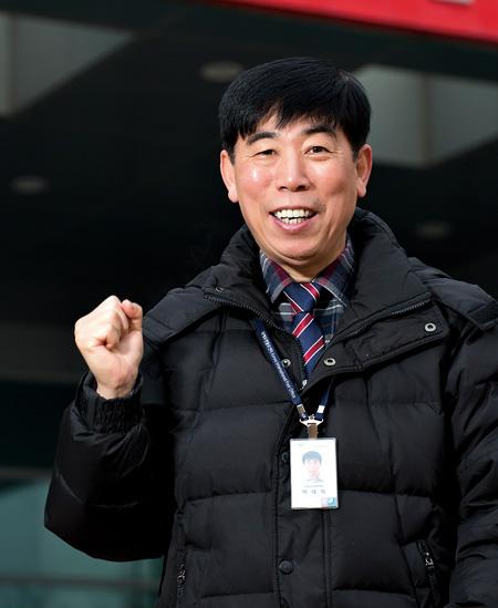 인천공항 국제화물터미널 경비 담당 박태화 씨.