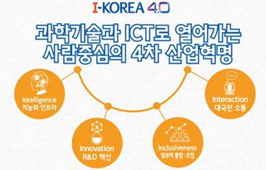 과학기술과 ICT로 열어가는 사람중심의 4차 산업혁명 이미지