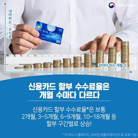 신용카드 할부 수수료 아끼는 법