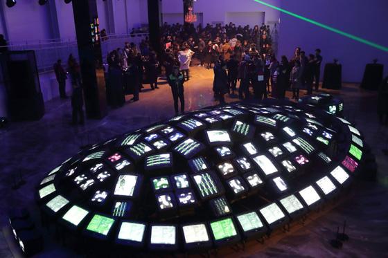 개회식 당일 VR(가상현실), 5G, AI(인공지능) 등을 체험할 수 있는 공간이 마련됐다. (사진 = 평창동계올림픽조직위)