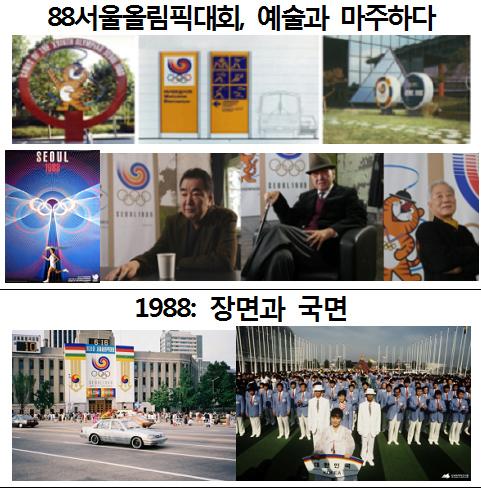 '두 번의 올림픽, 두 개의 올림픽' 전시 내용 (사진 = 문화체육관광부)