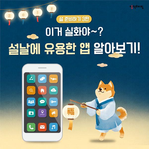 """[2018 설 준비 ③] """"이거 실화야?""""…설날에 유용한 앱 알아보기"""