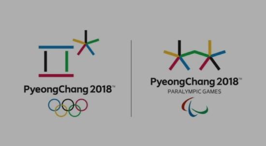2018평창동계올림픽과 2018평창동계패럴림픽 엠블럼의 모습. 패럴림픽 엠블럼은 함께 가는 희망을 의미한다.(사진=2018평창동계올림픽홍보영상)