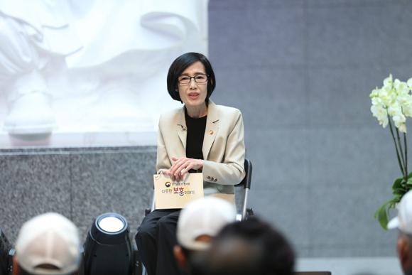 지난해 9월 25일 서울 백범김구기념관에서 열린 '따뜻한 보훈