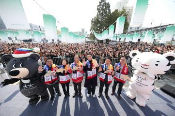 3월의 '패럴림픽' 한류스타와 스노우페스티벌