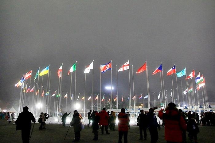 평창 올림픽 프라자 전경