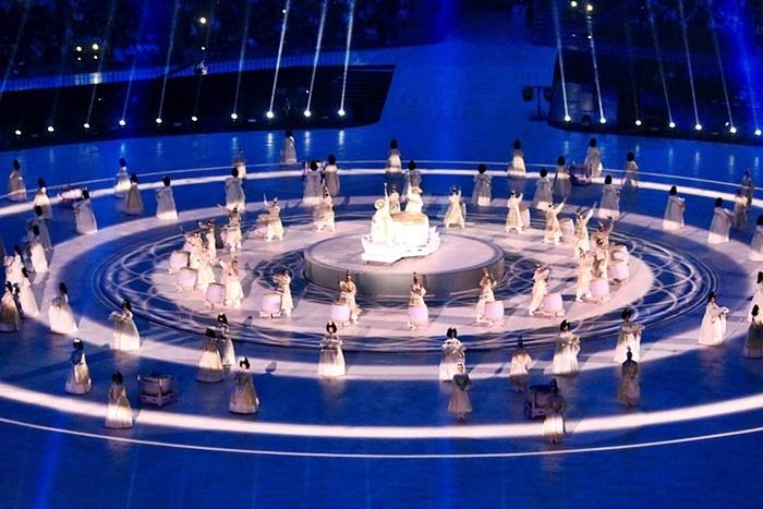 평창패럴림픽 개막식을 여는 화려한 문화행사