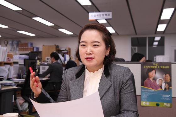 전명숙 복지부 자살예방정책과장.