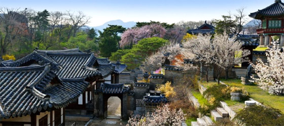 창덕궁 낙선재 봄 풍경 (사진 = 문화재청)