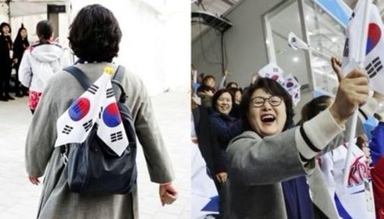 김정숙 여사는 9일부터 19일까지 패럴림픽의 거의 모든 경기를 참관하며 우리 선수들을 격려했다.(출처=청와대 페이스북)