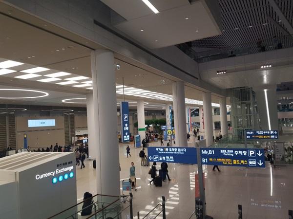 새로 개장한 인천공항 제2여객터미널.