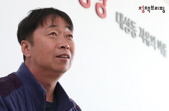 김동구 '대성동 자유의 마을' 이장.