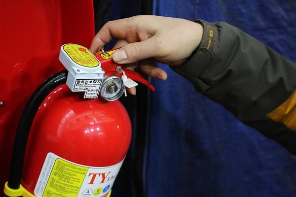 정부의 지원으로 다양한 화재 안전 시스템이 갖춰져 있어 안심됐다