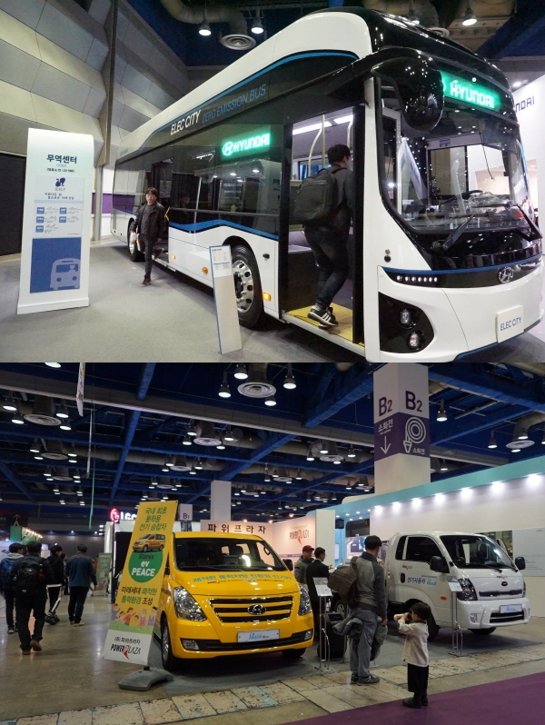 전기차 산업은 다양한 버스, 트럭, 승합차 등 분야로 확대됐다.