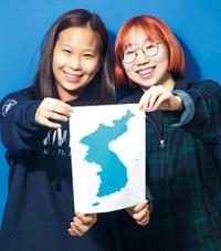 (왼쪽) 이지우(20, 정치외교학과),(오른쪽) 박하린(20, 정치외교학과)