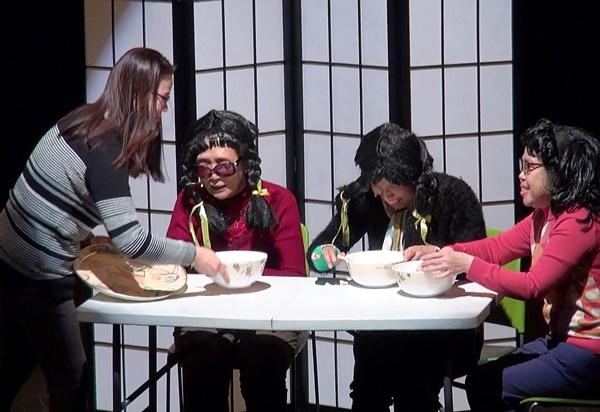 마냥의 연극도 학산마당극 놀래에 올랐다