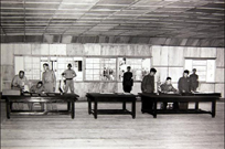 국사편찬위, 휴전 협상 당시 판문점 사진 공개
