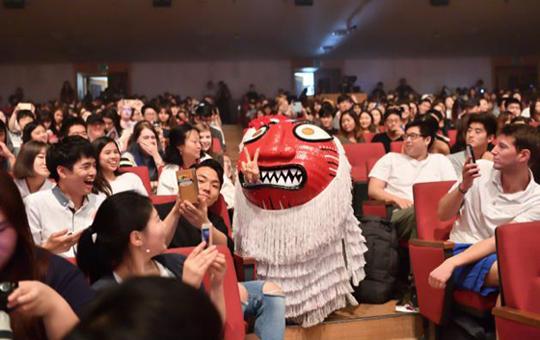 주한외국인 유학생 관객반응 (사진 = 해외문화홍보원)