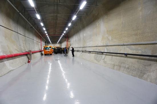 세계 최초 지하터널형 장기종자보관소