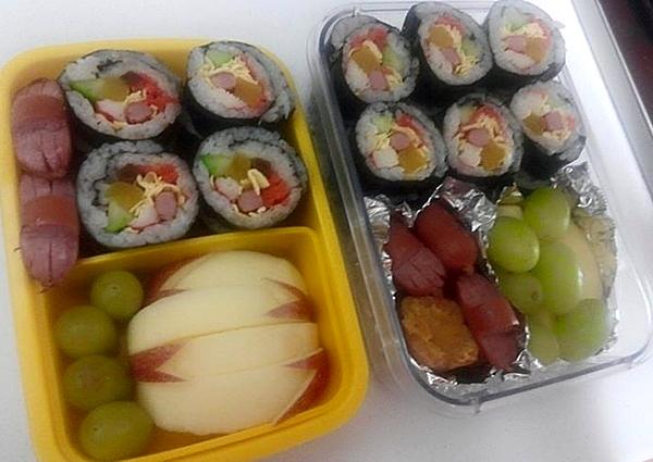 이제는 김밥도시락 정도는 간단하다는 사토코 씨.