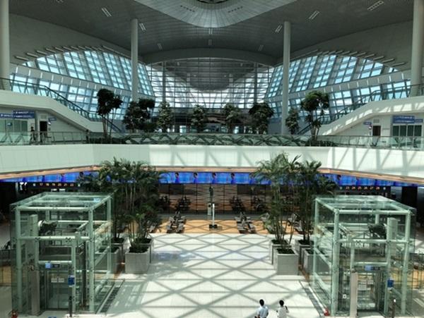인천국제공항 제2여객터미널.