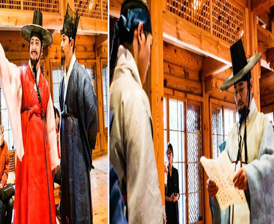 한복의 매력에 한국인의 추임새를 덧입한
