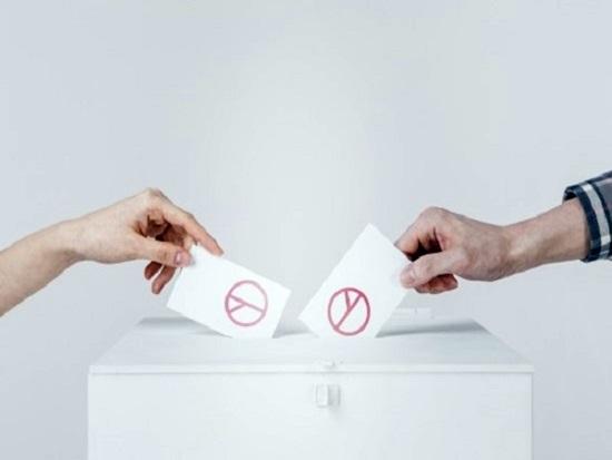선거날 하면 안 되는  것은?