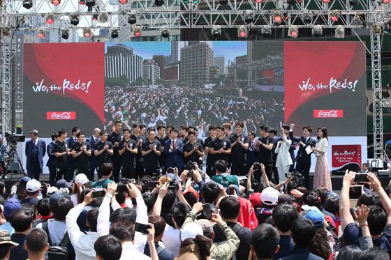 신태용호가 결전의 장소 러시아월드컵에 출전해 6월 18일 스웨덴, 6월 24일 멕시코, 6월 27일 독일과 차례로 맞붙는다. (사진 = 대한축구협회)