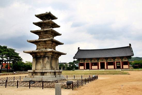국보 제 9호 정림사지 5층 석탑
