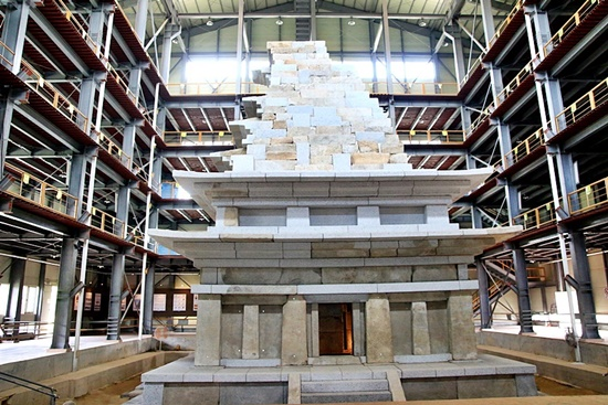 20년간의 해체 복원으로 새롭게 태어난 국보 11호 미륵사지 석탑