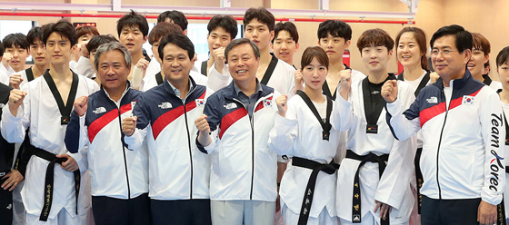 자카르타·팔렘방 아시안게임 한국선수단 결단식