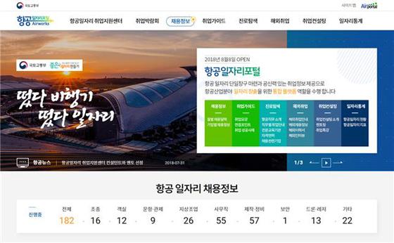 8만개 항공 일자리 한 눈에…'항공일자리포털' 오픈